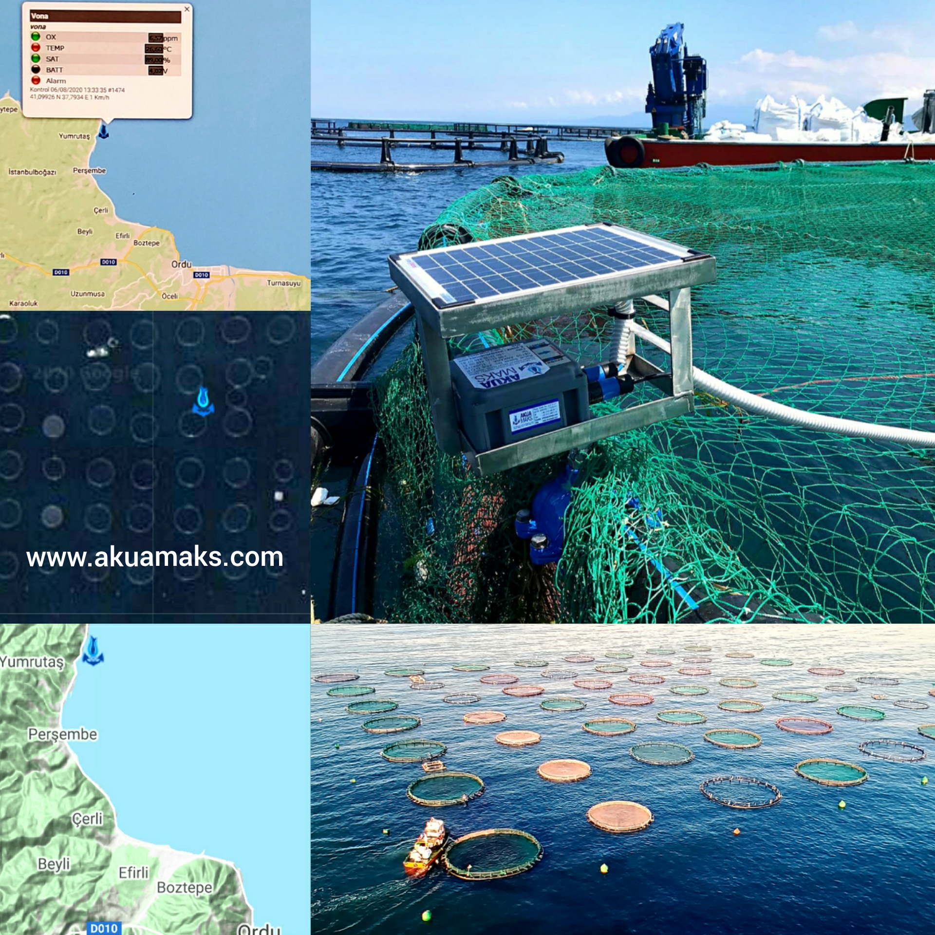 Our Monitoring Systems Bodrum - Vona - Persembe - Ordu / Black Sea