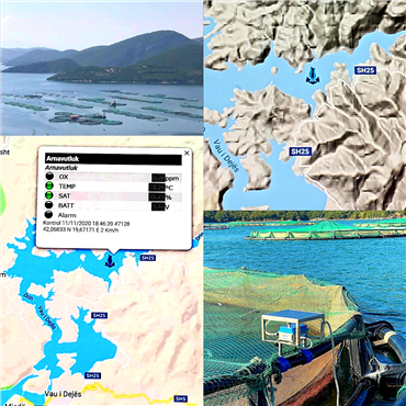 Our Monitoring Systems Vau Dejes Dam / Albania