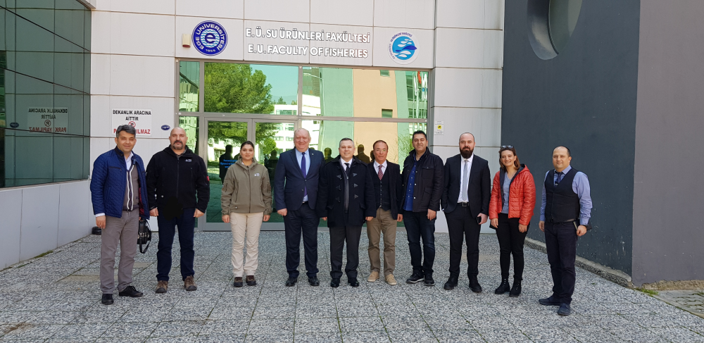 Ege University Faculty of Fisheries Visit